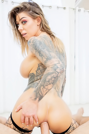 Karma Rx Swallows Hot Cum After Riding Hard Dick
