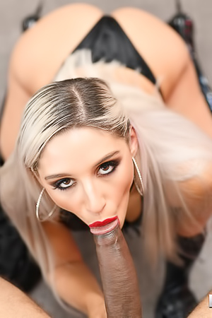 Abella Danger In Sexy Leather Outfit