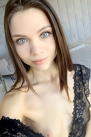 Russian Teen Adriana With Beautiful Face And Perfect Skin